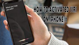 get siri on iphone 11