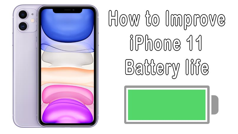save battery on iphone 11