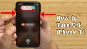 how do i turn off my iphone 11