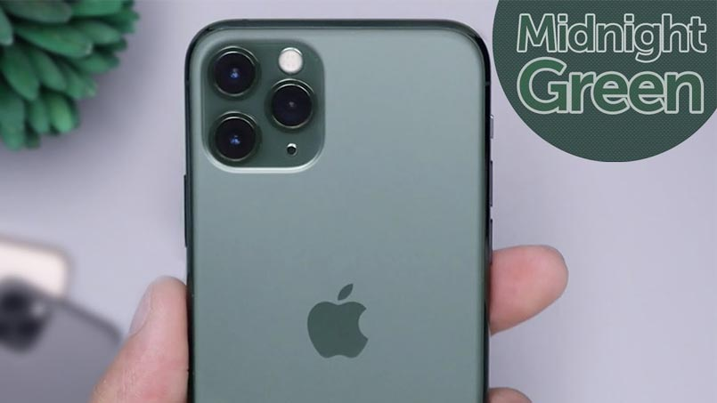 midnight green iphone 11