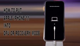 put iphone 11 into recovery mode