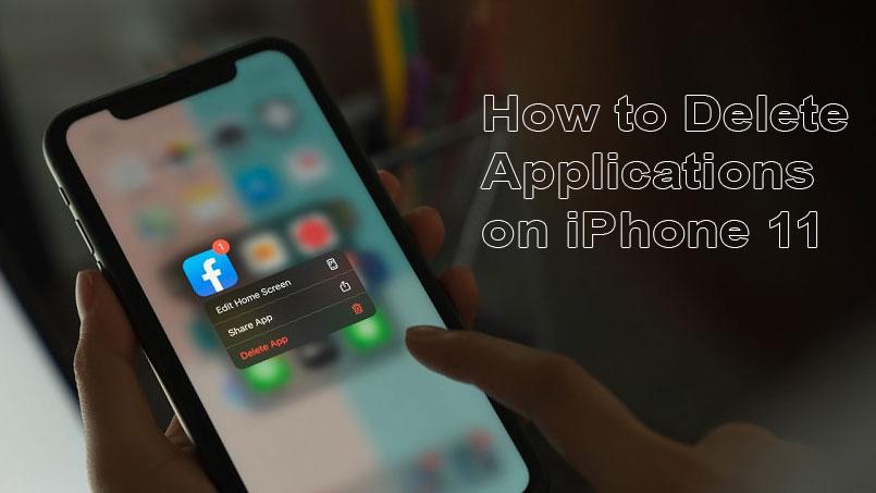 delete apps on iphone 11