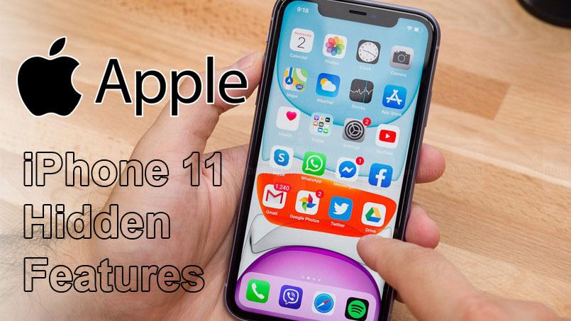 iphone 11 hidden features