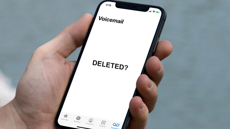 recover deleted voicemail on iphone 11